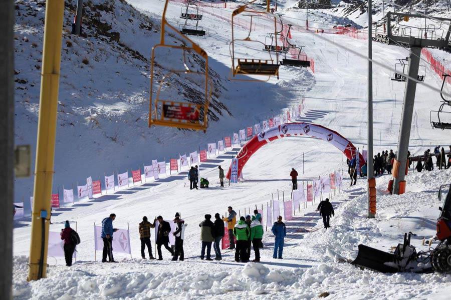 پیست اسکی آلوارس در ایران