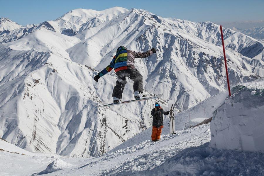 قدمت اسکی در ایران
