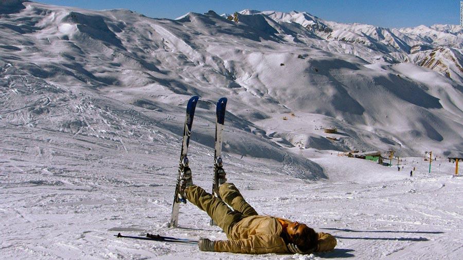 زمان رفتن به اسکی در ایران