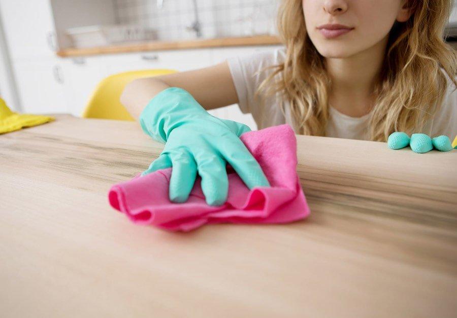 تمیز کردن و از بین بردن ویروس کرونا