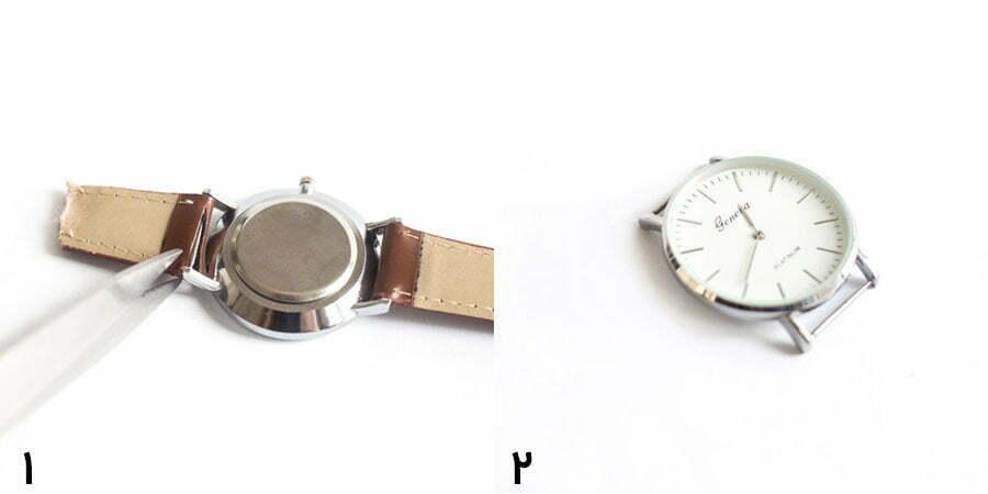 ساخت بند ساعت پارچهای مرحله اول