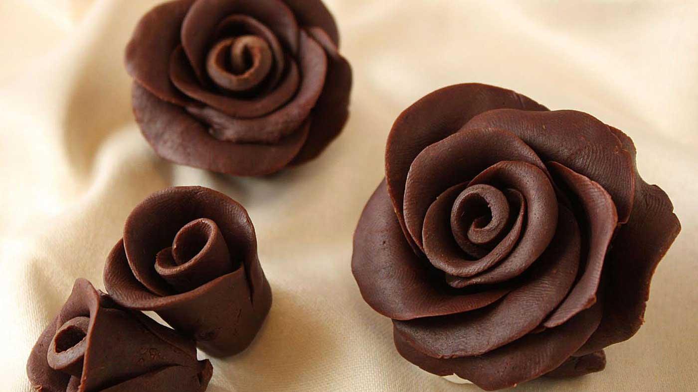 تزیین شکلات