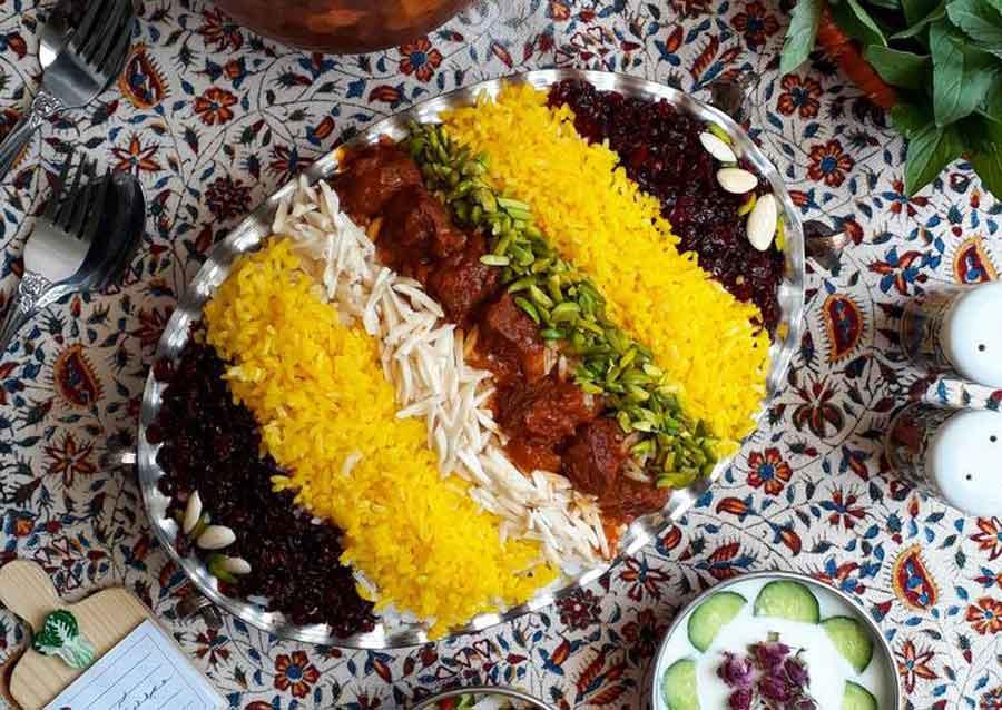 غذاهای محبوب قزوین