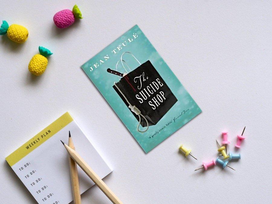 کتاب مغازه خودکشی