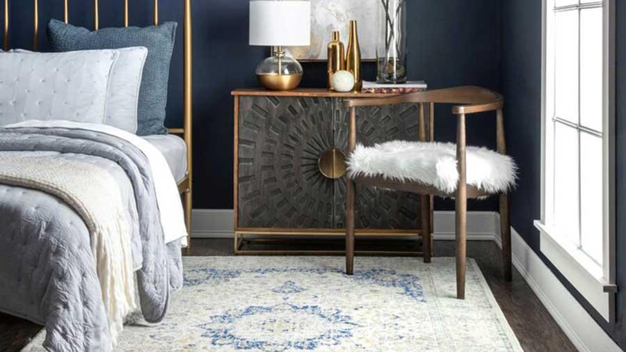 انتخاب رنگ فرش مناسب با مبل