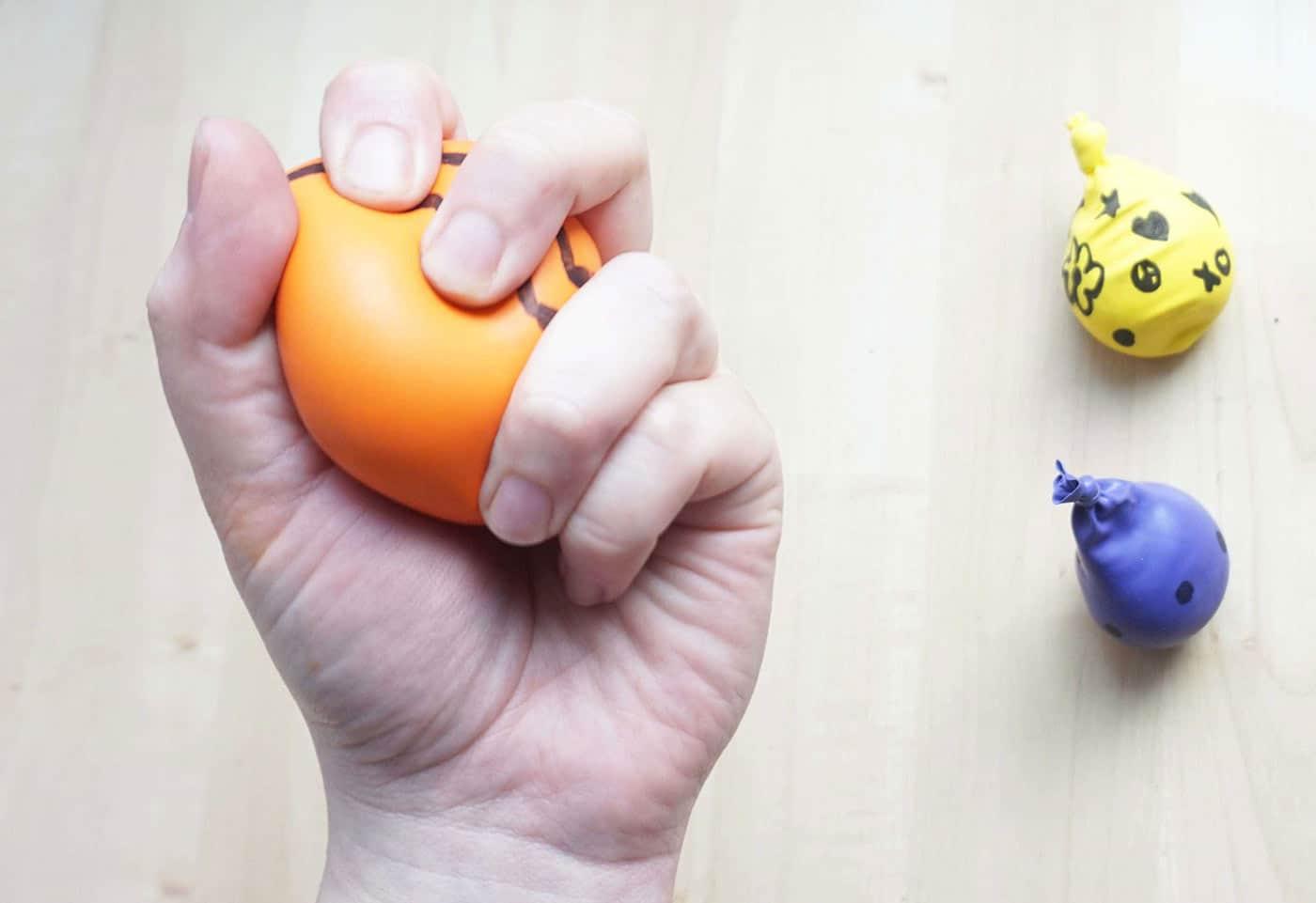 آموزش ساخت توپ ضد استرس