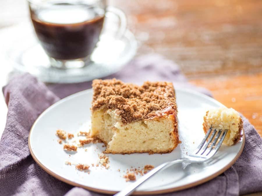 کیک با طعم قهوه ، ایده جذاب برای صبحانه