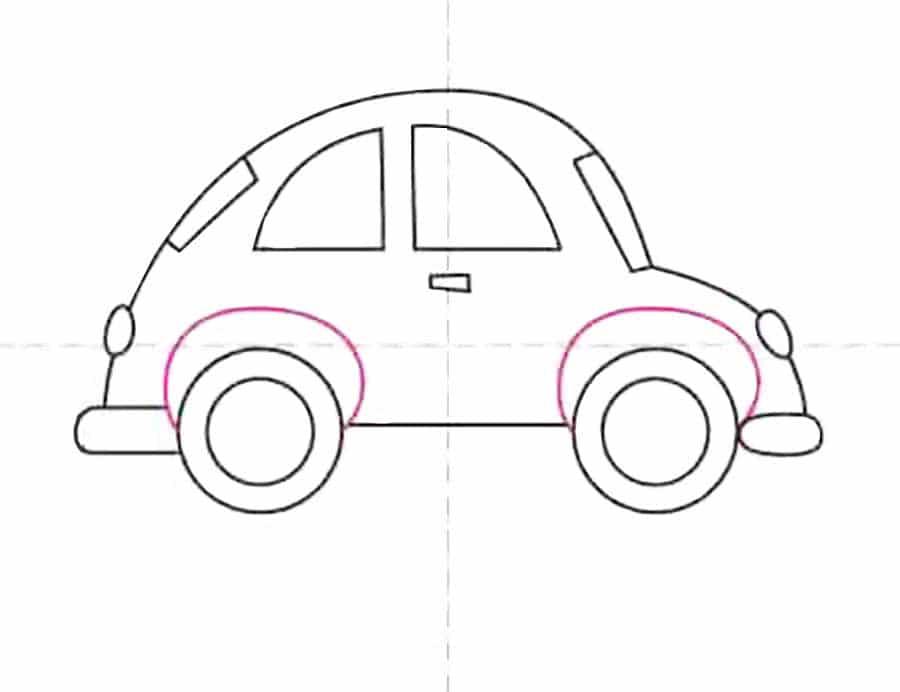 طراحی ماشین کودکانه