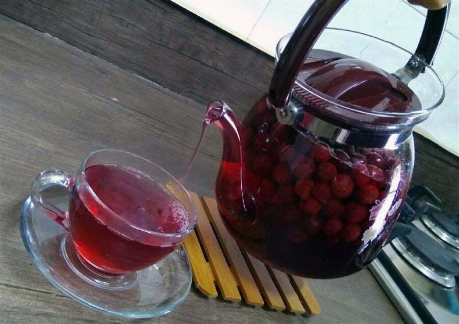 طرز تهیه چای آلبالو به زبان ساده