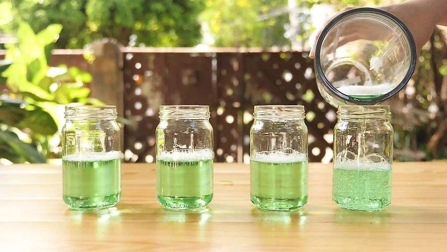 آموزش درست کردن مایع حباب ساز برای تولید حبابهای رنگی