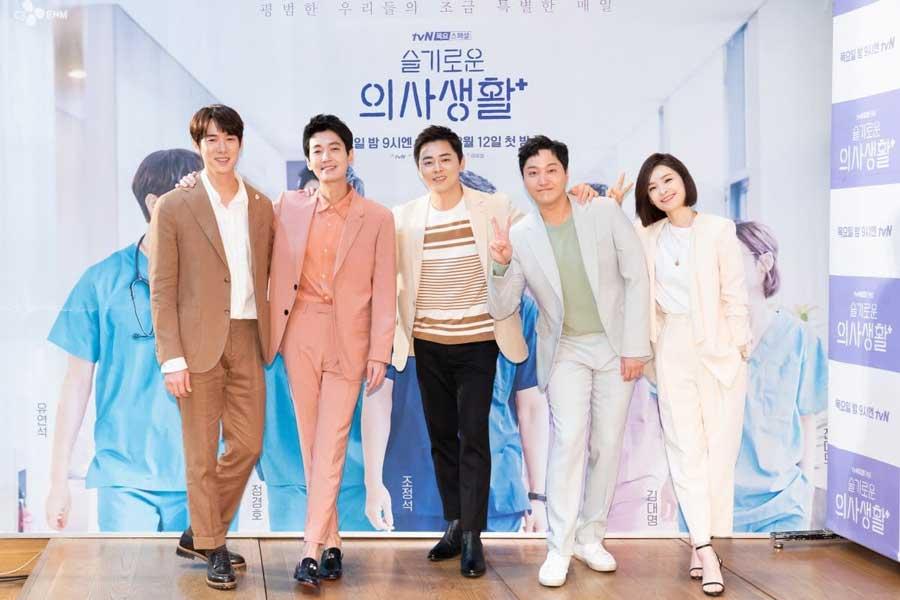 بازیکران سریال کره ای