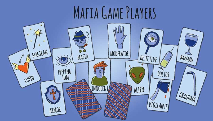 بازی مافیا از سرگرمی های جالب