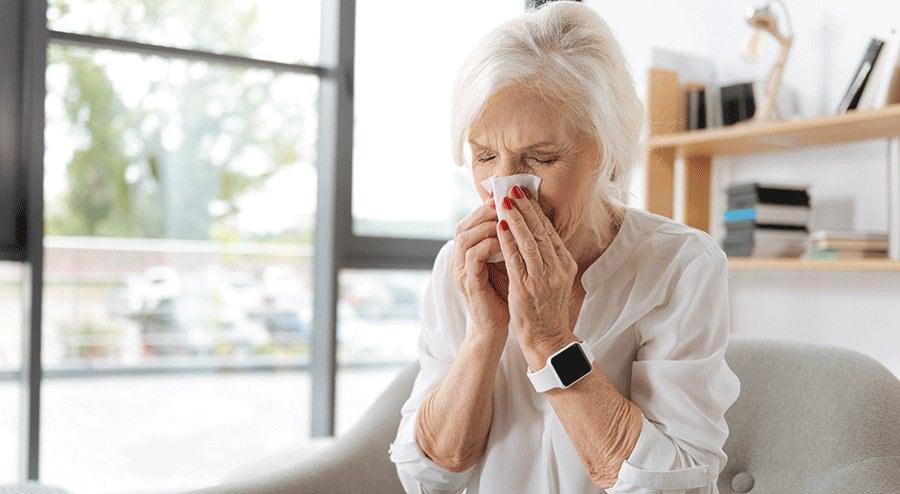 علائم آنفولانزار در بزرگسالان