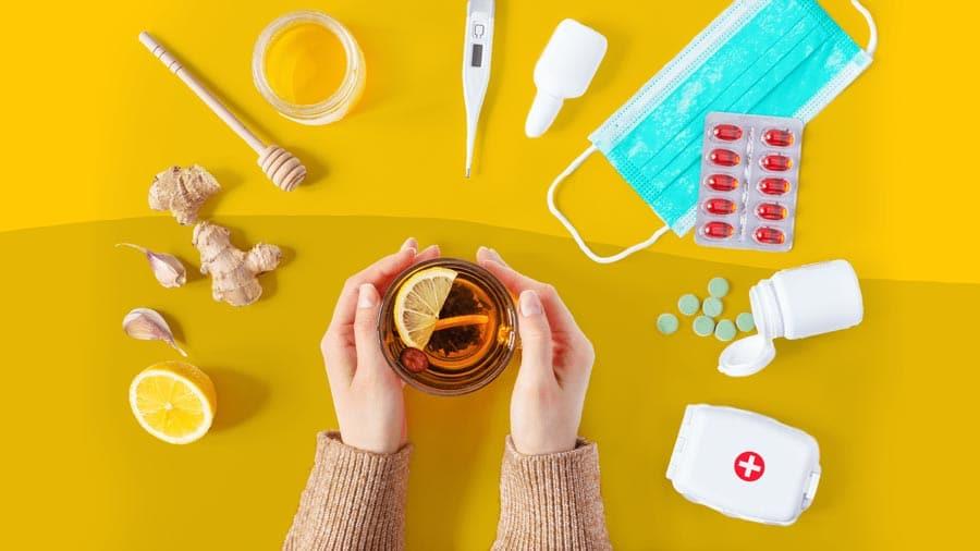 راه های درمان علائم آنفولانزا