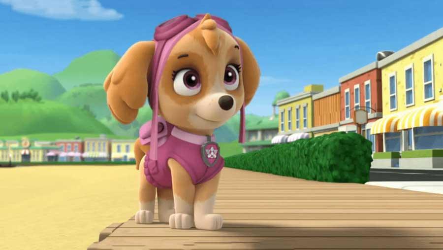 اسکای سگ مهربان انیمیشن
