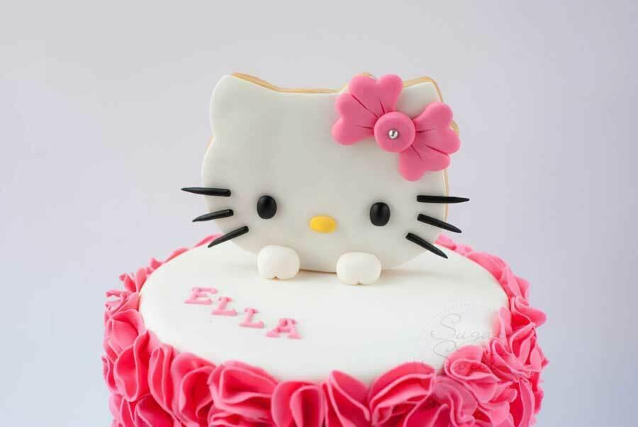 تزیین کیک کیتی
