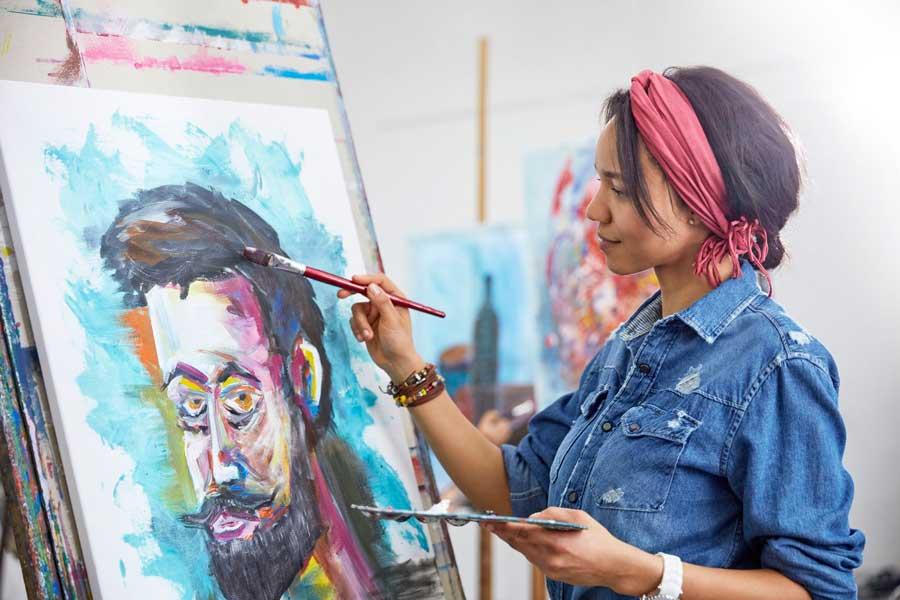 کشیدن نقاشی