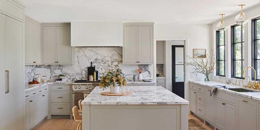 سنگ مرمر در آشپزخانه