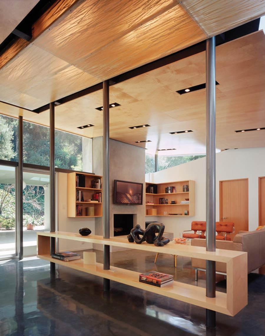 بروزترین ایده ها برای ساخت دکور ستون وسط خانه