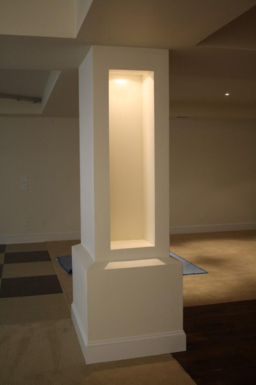 زیباترین ایده های دکور ستون وسط خانه