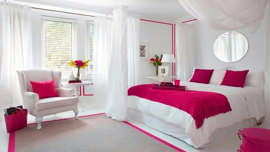 رنگ های انرژی بخش در اتاق خواب